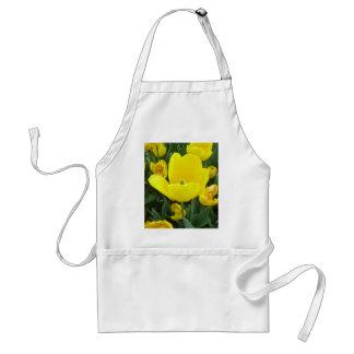 Spring's Sunshine Yellow Tulips CricketDiane Apron