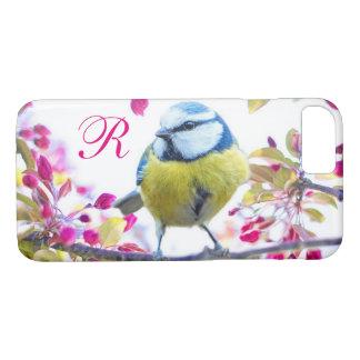 Springtime Bird Monogram iPhone 8/7 Case