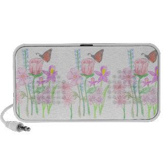 Springtime Butterfly Travel Speaker