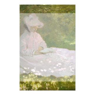 Springtime by Claude Monet Custom Flyer