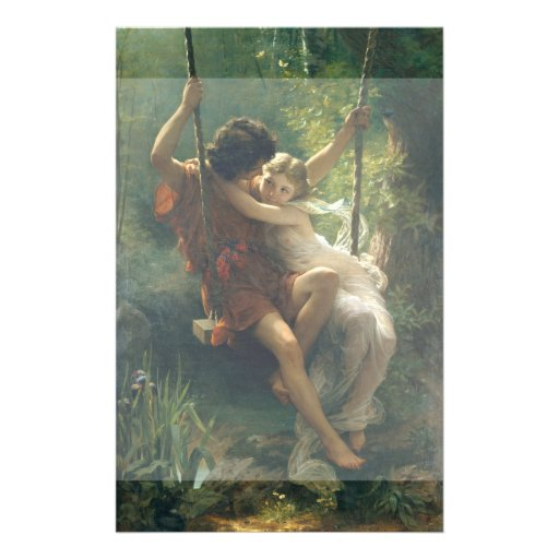 Springtime by Pierre Auguste Cot Flyer