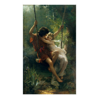 Springtime by Pierre Auguste Cot Posters