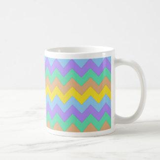 Springtime Chevron Classic White Coffee Mug