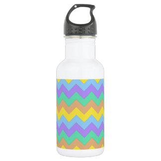 Springtime Chevron 18oz Water Bottle