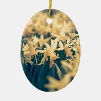 Springtime Daffodils Christmas Ornament