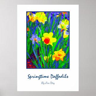 'Springtime Daffodils'  Poster