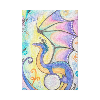 Springtime Dragon Canvas Print