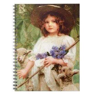 Springtime. Easter Gift Notebook