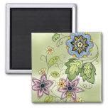 Springtime Floral Magnet