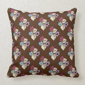 Springtime Flowers 5 Square Throw Pillow