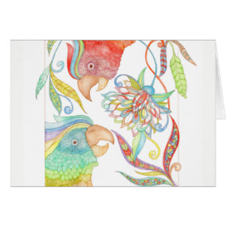 Springtime in Amazonia birthday greeting card