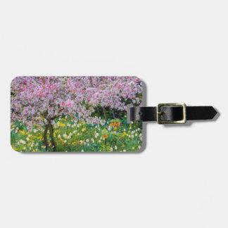 Springtime in Claude Monet's garden Luggage Tag