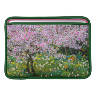 Springtime in Claude Monet's garden MacBook Air Sleeve