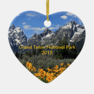 Springtime in Grand Teton National Park Customized Christmas Ornament