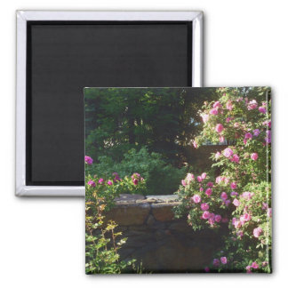 Springtime in New England Square Magnet