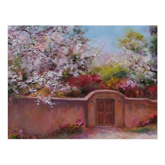 Springtime in Santa Fe Postcard
