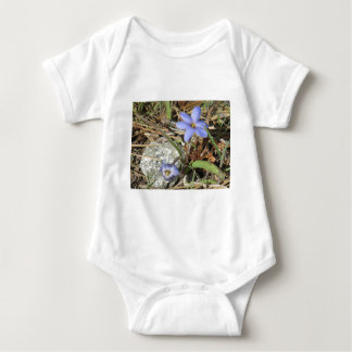 Springtime in the Mountains Purple Iris Flowers T-shirt