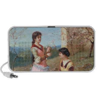 Springtime in Tuscany Laptop Speakers