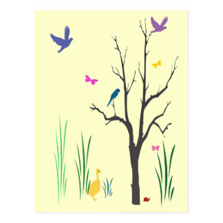 Springtime Postcard