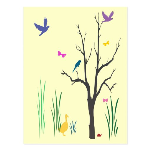 Springtime Post Cards