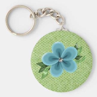 SpringTime & RhineStone Set keychain
