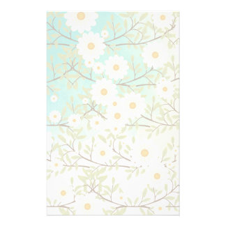 Springtime scene personalised stationery