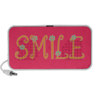 Springtime Smiles Laptop Speakers