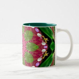 Springtime TapesteryMug Two-Tone Coffee Mug