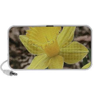 Springtime Yellow Daffodil Travelling Speaker