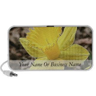 Springtime Yellow Daffodil Travel Speaker