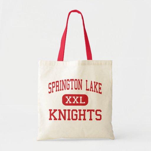 Springton Lake - Knights - Middle - Media Canvas Bag