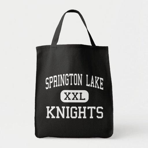 Springton Lake - Knights - Middle - Media Tote Bag