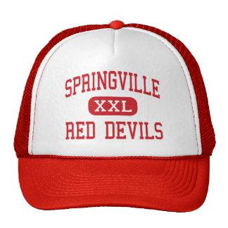 Springville - Red Devils - High - Springville Utah Cap