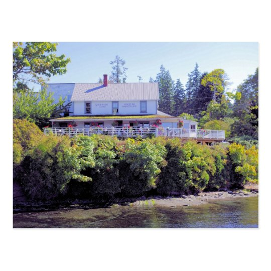 Springwater Lodge - Mayne Island Postcard