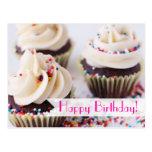 Sprinkle Cupcakes Happy Birthday