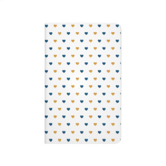 Sprinkle Hearts (Navy/Gold) Journal