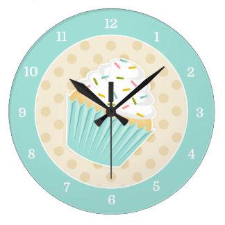Sprinkled Cupcake Clock
