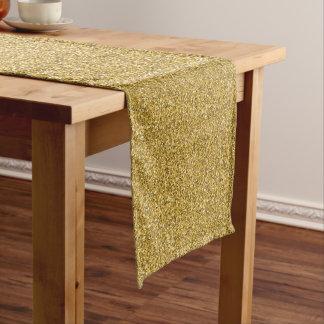 Sprinkled Gold Glitters. Long Table Runner