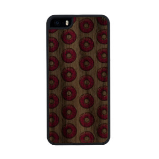 SPRINKLED PINK Slim Walnut iPhone 5/5S Case iPhone 6 Plus Case