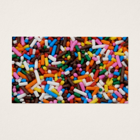 Sprinkles Business Card