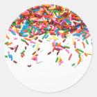 Sprinkles Classic Round Sticker