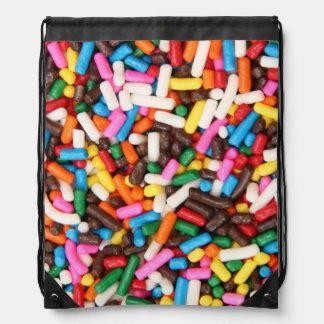Sprinkles Drawstring Backpack
