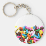 Sprinkles Filled Keychain