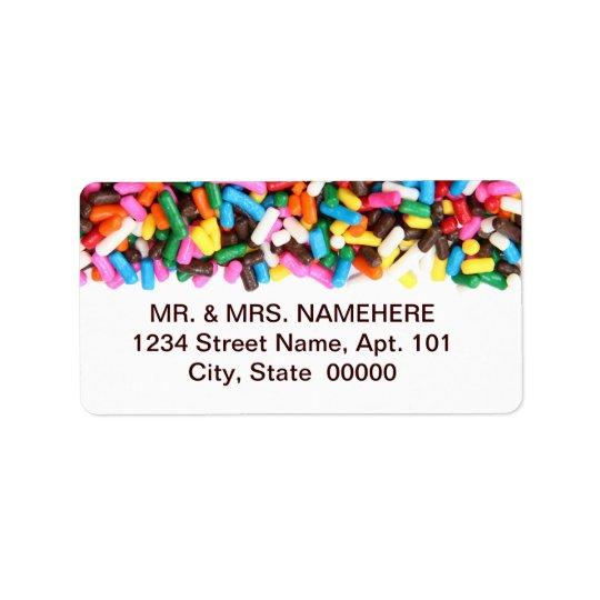 Sprinkles Labels