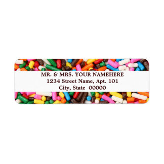 Sprinkles Labels