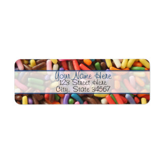 Sprinkles Return Address Labels