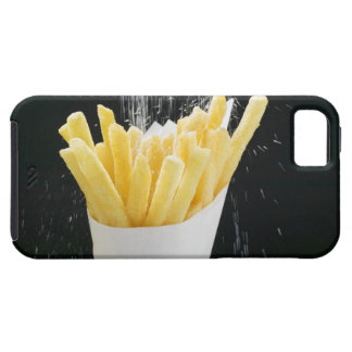 Sprinkling salt on chips in paper cone iPhone 5 cases
