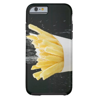 Sprinkling salt on chips in paper cone tough iPhone 6 case