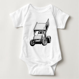 Sprint Car 1 Baby Bodysuit