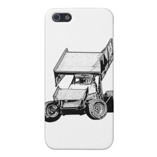 Sprint Car 1 iPhone 5/5S Covers